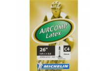 Chambre à air MICHELIN AIRCOMP LATEX C4 26x1.9/2.2 Presta 40mm